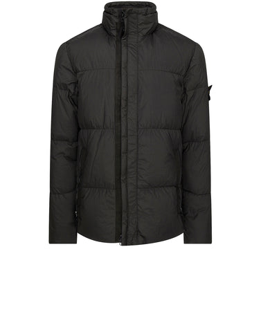 42223 GARMENT DYED CRINKLE REPS NY Down Jacket in Dark Forest
