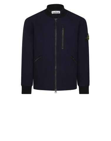 43948 PANNO SPECIALE BOMBER JACKET in Blue