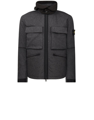 44032 PANNO-R 4L STRETCH Jacket in Grey