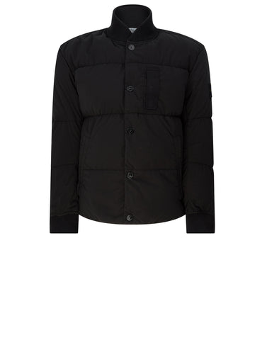 44534 MUSSOLA GOMMATA VELOUR DOWN TC Jacket in Black