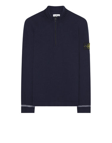 501A3 Half Zip Knit in Navy