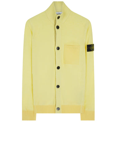 530D9 Wool Blend Cardigan in Yellow