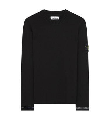 539A3 Crew Neck Knit in Black