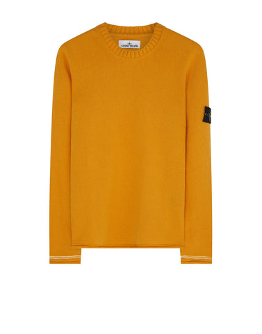 539A3 Crew Neck Knit in Orange