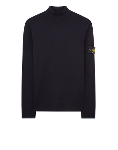 543A1 Turtle Neck Knit in Navy