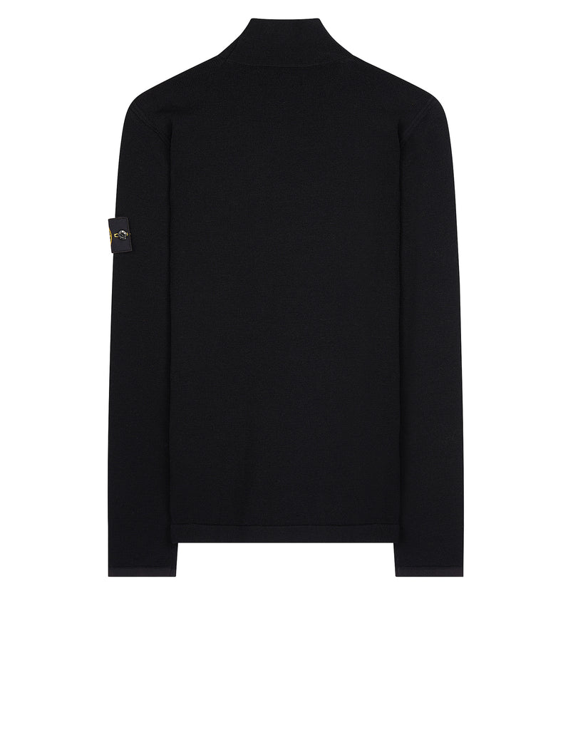 543A1 Turtle Neck Knit in Black