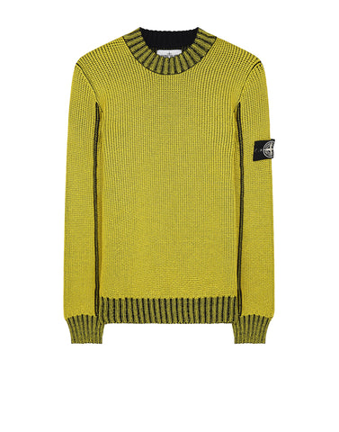 547B4 ICE KNIT_THERMO SENSITIVE YARN Knitwear in Yellow