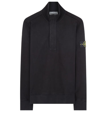 60120 Half Zip Sweatshirt in Black