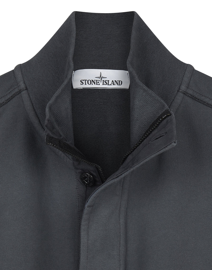 60120 Half Zip Sweatshirt in Charcoal
