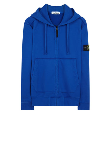 60220 Hooded Sweatshirt in Light Blue