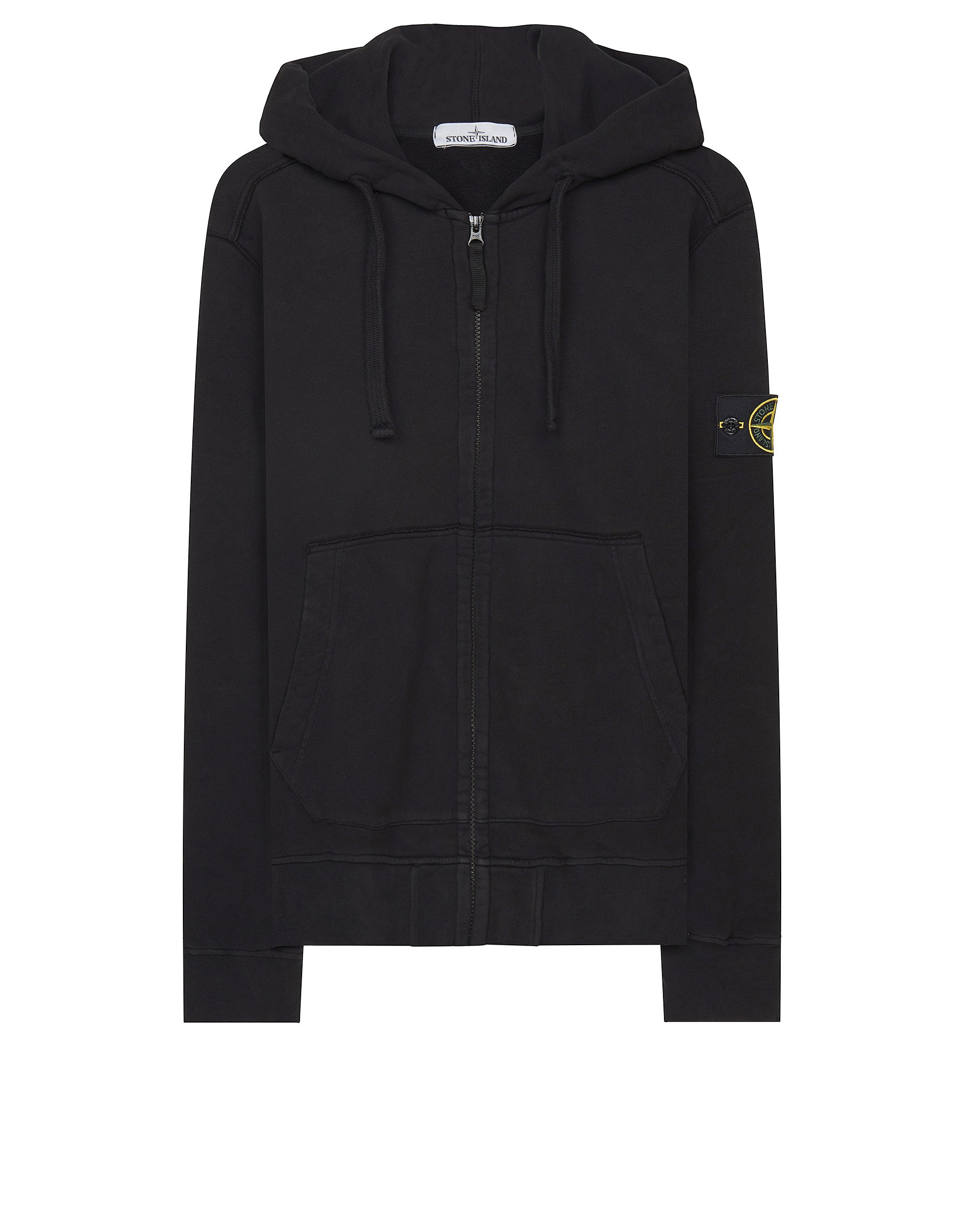60220 Hooded Sweatshirt in Black