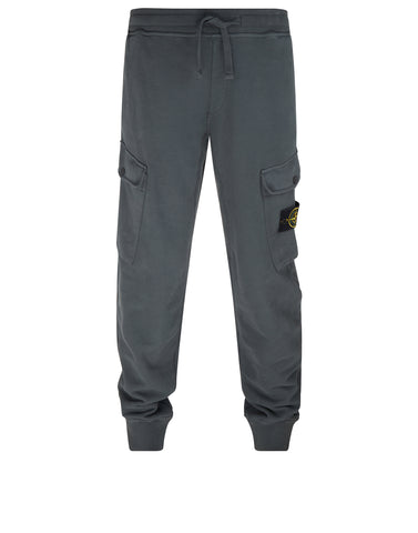 61120 Cotton Fleece Jogging Pants in Grey