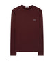 62339 Lightweight Sweatshirt in Burgundy