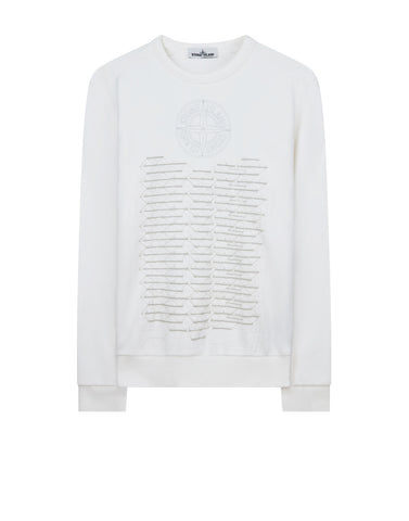 62389 HABITAT Sweatshirt in White