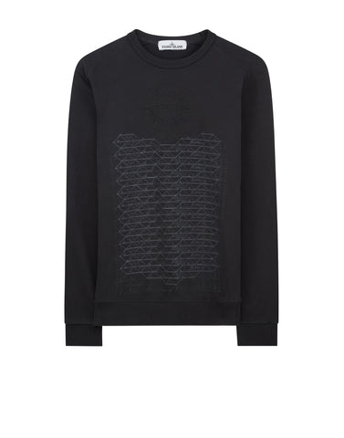 62389 HABITAT Sweatshirt in Charcoal