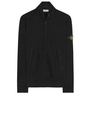 63020 Zip Sweatshirt in Black