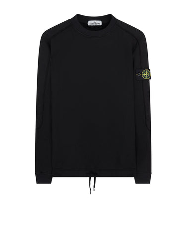 655J3 SI HOUSE CHECK_FELPA Sweatshirt in Black