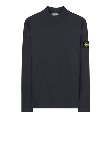 67043 T.CO+OLD Funnel Collar Sweatshirt in Charcoal