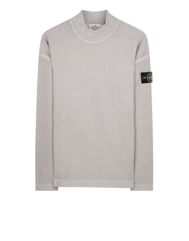 67043 T.CO+OLD Funnel Collar Sweatshirt in Fog
