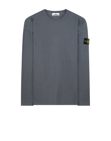 67143 T.CO+OLD Ribbed Cotton Crew Neck Fleece in Grey