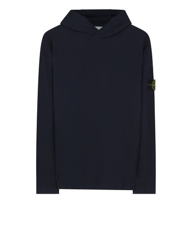 67243 Hooded Cotton Sweatshirt in Navy