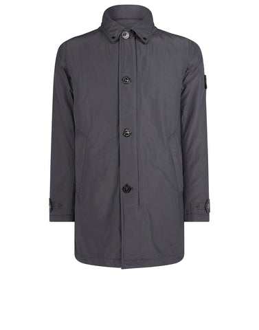 70126 MICRO REPS Trench Coat in Grey