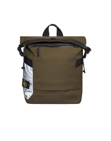 91670 Nylon Tela Backpack in Khaki