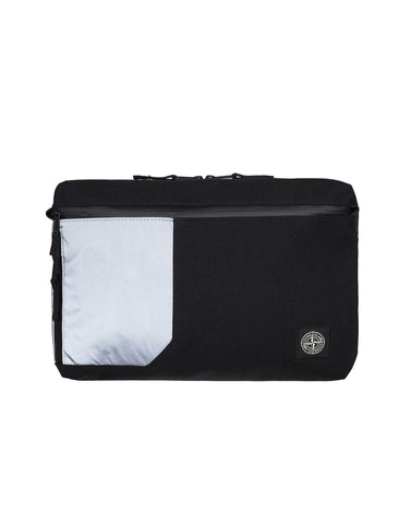 91870 Nylon Tela Laptop Case in Black
