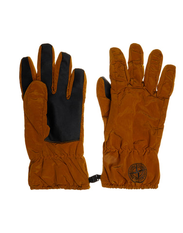 92069 NYLON METAL Gloves in Orange