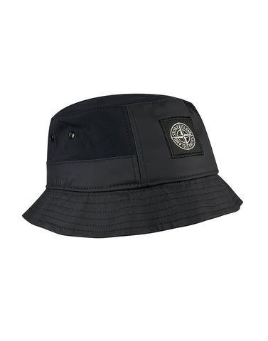 99376 SOFT SHELL-R Bucket Hat in Black