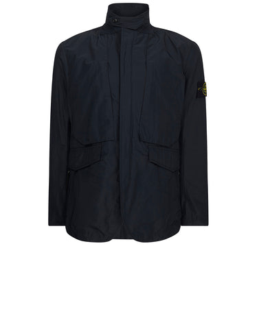 A0126 MICRO REPS Nylon Blazer in Navy