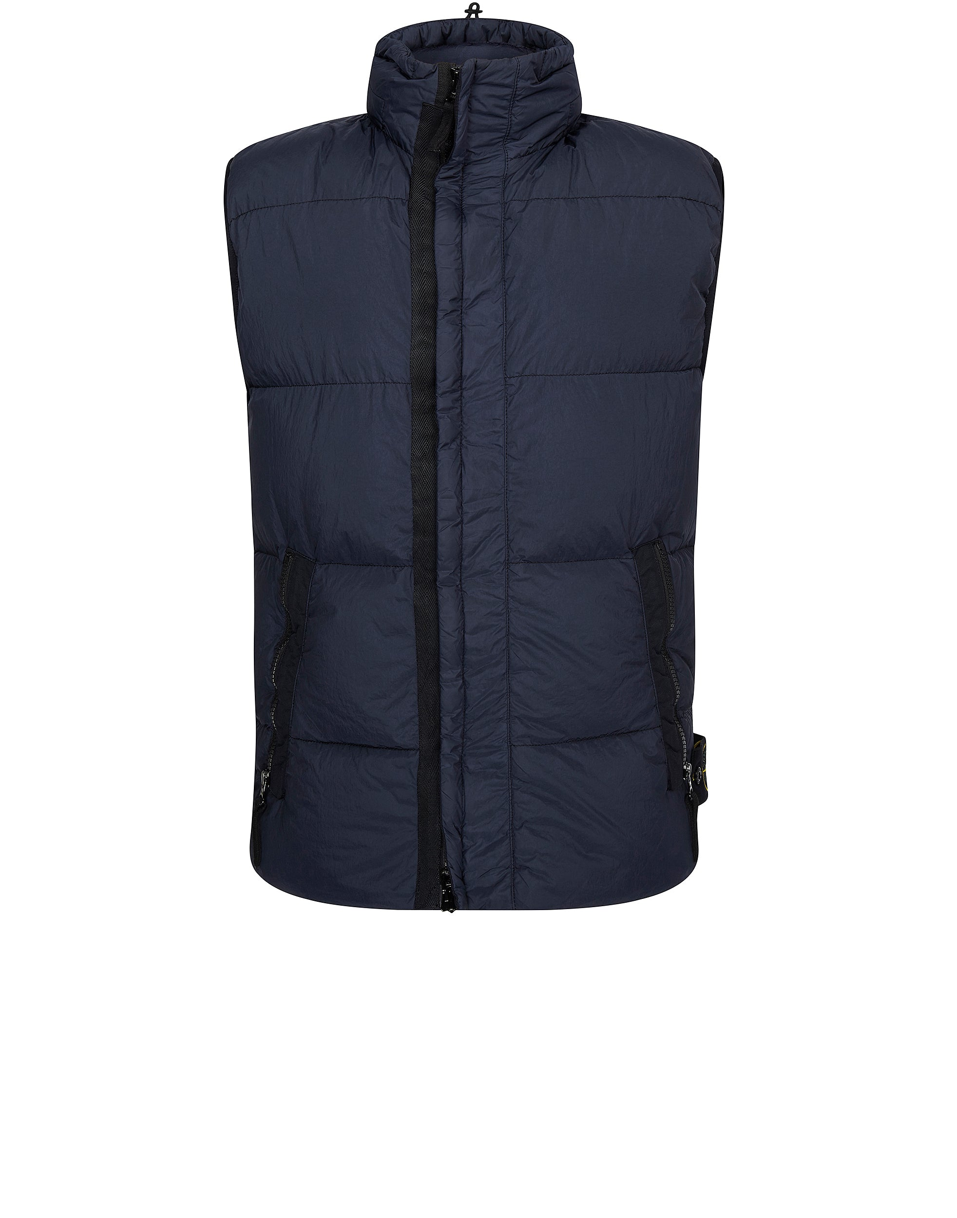 G0223 GARMENT DYED CRINKLE REPS NY DOWN Vest in Navy