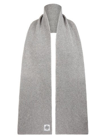 N30A7 Lambswool Scarf in Grey