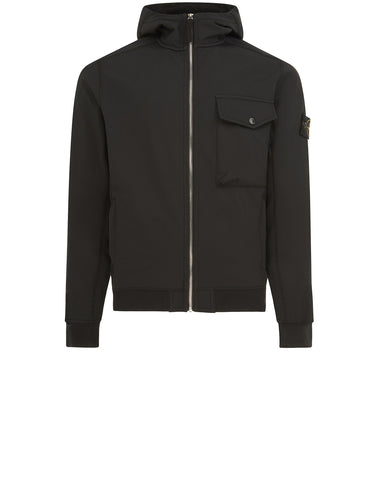Q0622 SOFT SHELL-R Jacket in Black