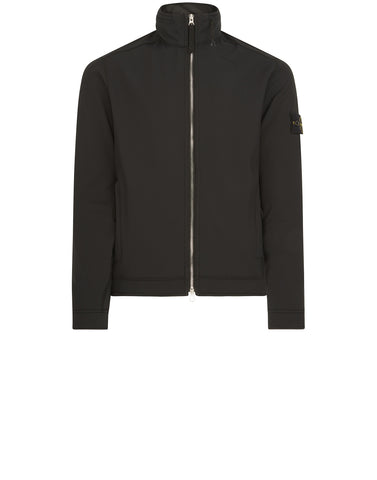 Q0822 SOFT SHELL-R Jacket in Black