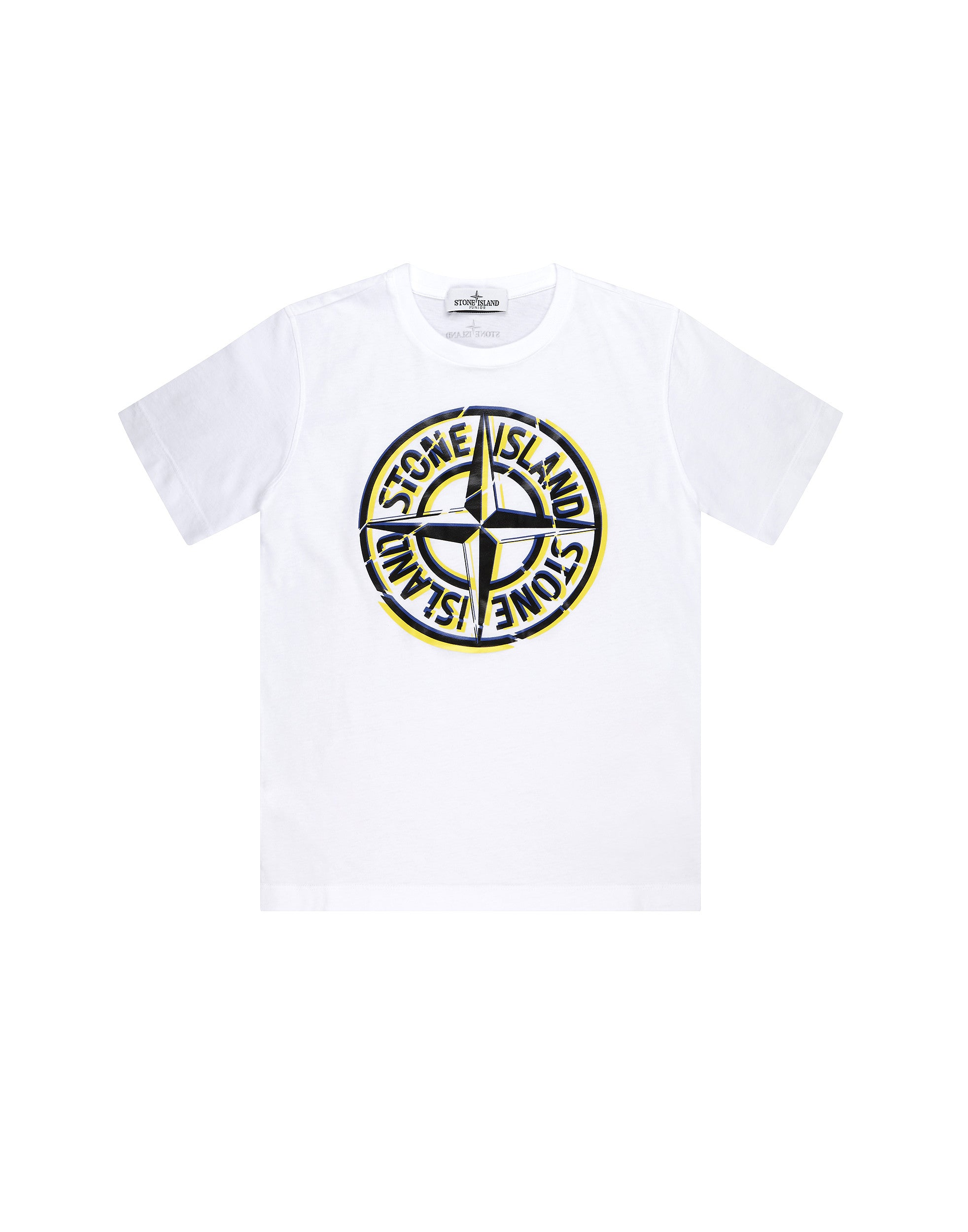 21051 Printed T-Shirt in White