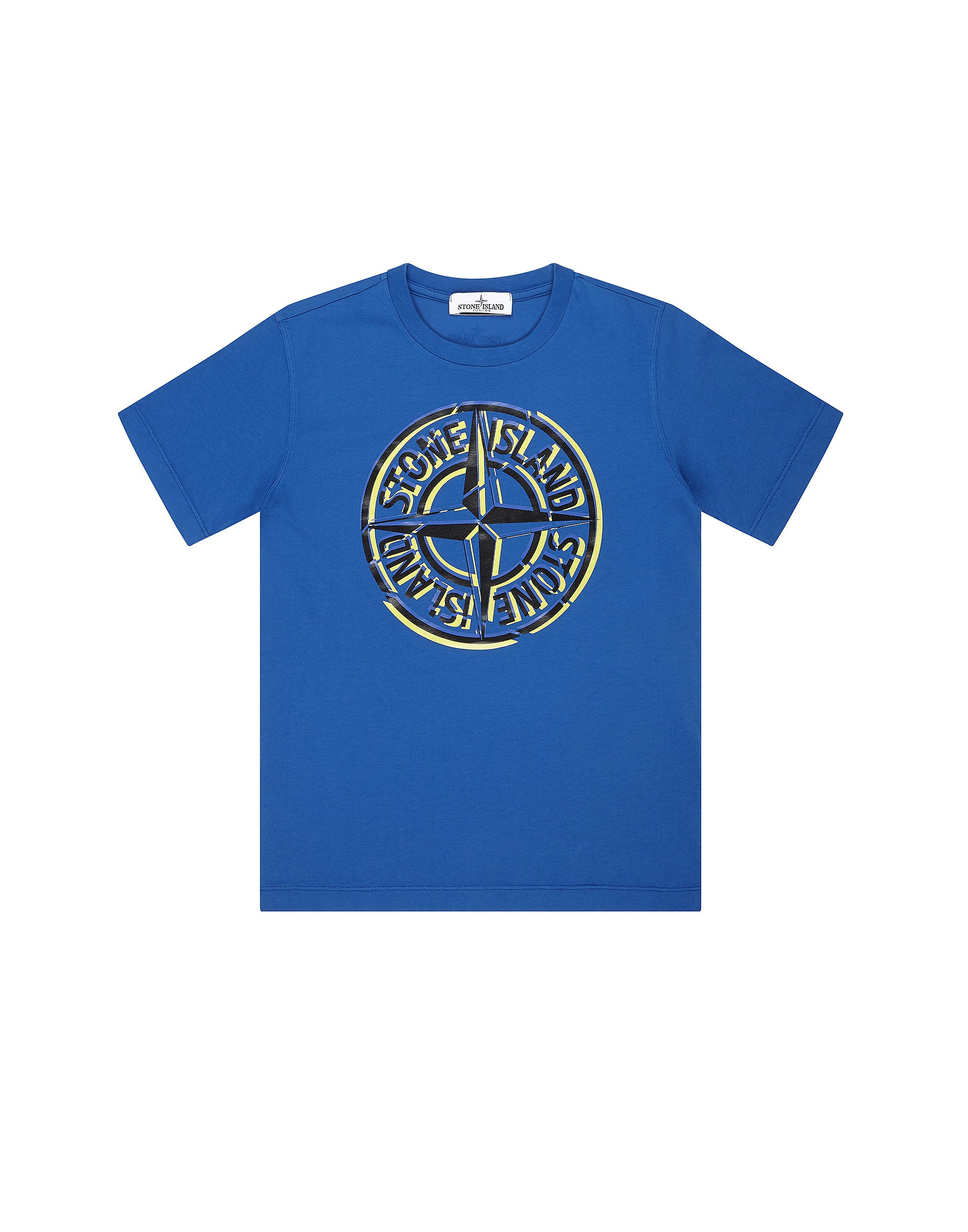 21051 Printed T-Shirt in Blue