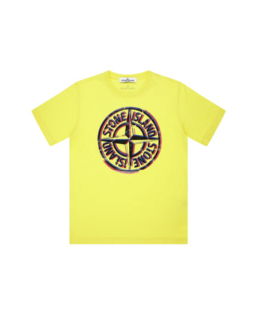 21051 Printed T-Shirt in Yellow