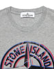 21051 Printed T-Shirt in Grey