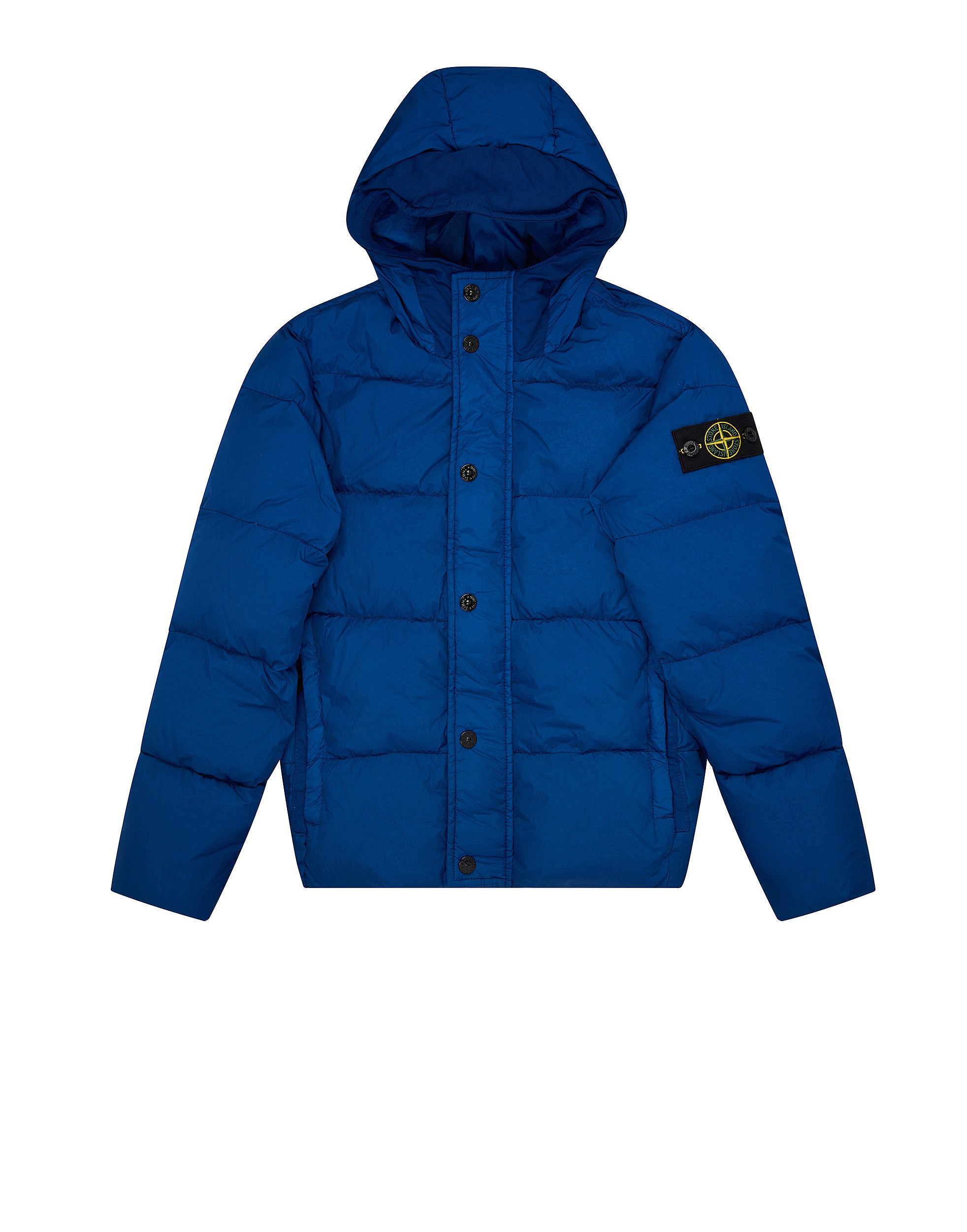 40233 GARMENT DYED CRINKLE REPS DOWN Jacket in Blue