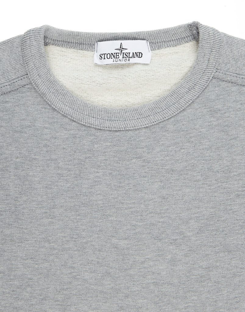 60440 Crew Neck Sweatshirt in Marl Grey
