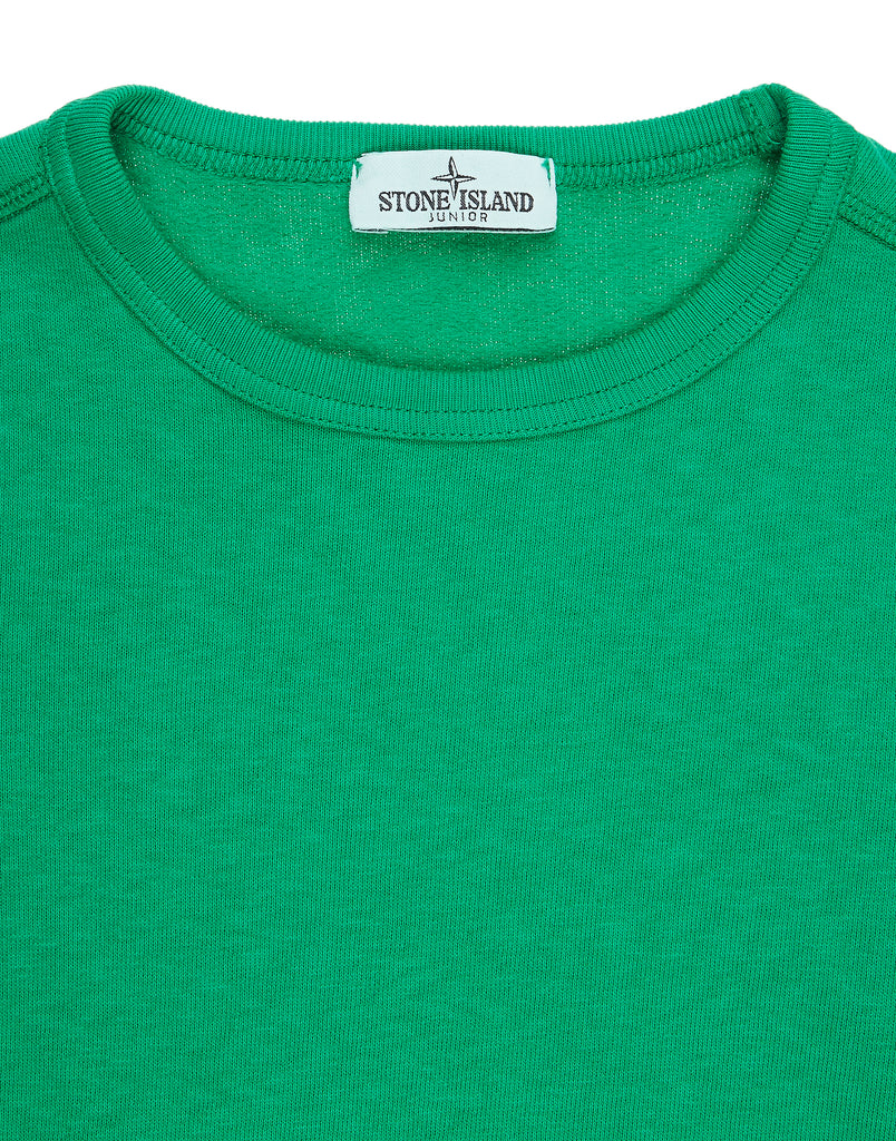 62943 Crew Neck Pouch Pocket Sweatshirt in Green