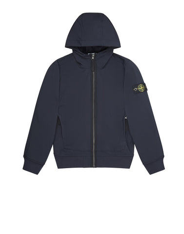 Q0130 SOFT SHELL-R Jacket in Navy