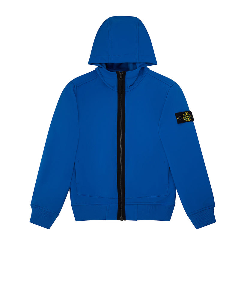 Q0130 SOFT SHELL-R Jacket in Blue