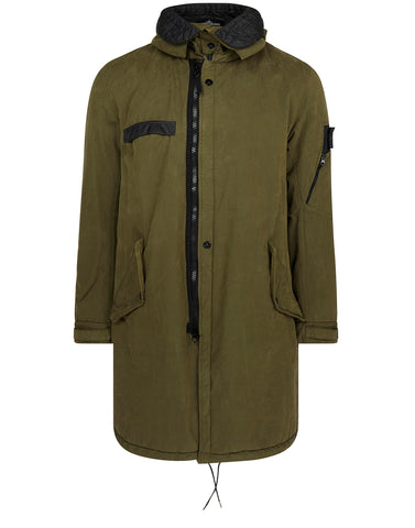 70412 PADDED FISHTAIL PARKA in Khaki