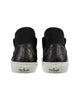 S0124 LASER ENGRAVED SLIP-ON SNEAKER in Black