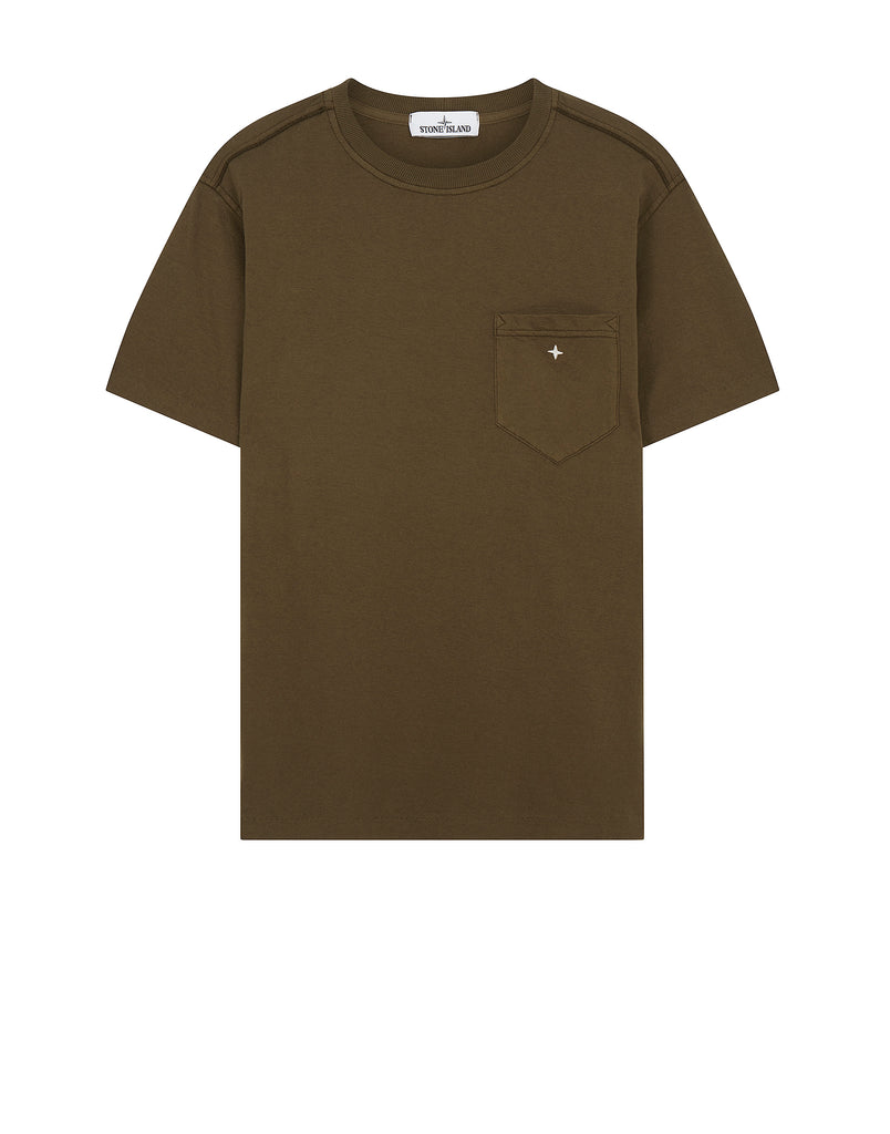 21657 Compass Pocket T-Shirt in Military Green