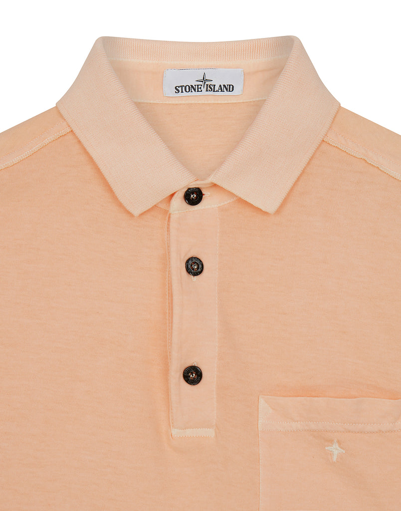 21757 Compass Pocket Polo Shirt in Salmon