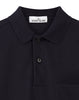 21917 Compass Pocket Polo Shirt in Navy Blue