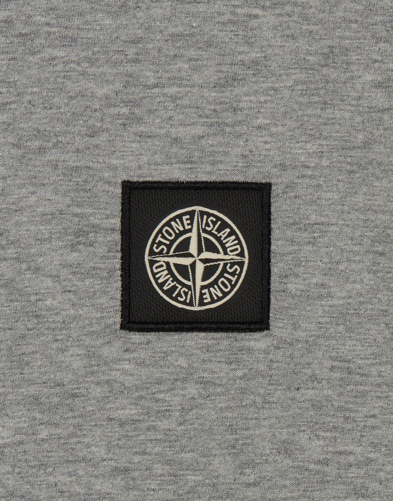 24141 Small Logo Patch T-Shirt in Dust